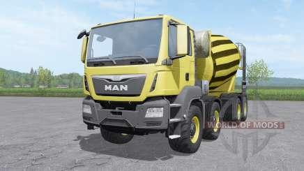 MAN TGS mixer 2015 v1.0.2 para Farming Simulator 2017