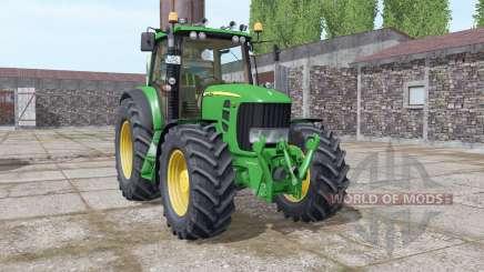 John Deere 7530 Premium v5.0 para Farming Simulator 2017