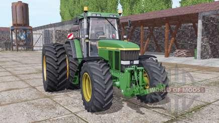 John Deere 7810 dual rear para Farming Simulator 2017