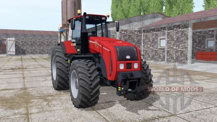 Bielorrússia 3522 vermelho brilhante para Farming Simulator 2017