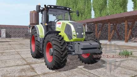 CLAAS Axion 850 front weight para Farming Simulator 2017