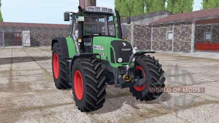 Fendt 820 Vario TMS lime green para Farming Simulator 2017
