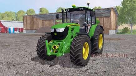 John Deere 6125M interactive control para Farming Simulator 2015