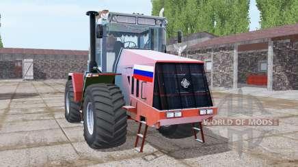 Kirovets K-744R3 vermelho brilhante para Farming Simulator 2017
