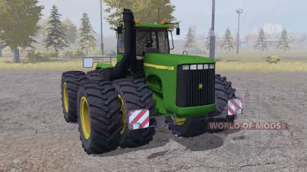 John Deere 9400 twin wheels para Farming Simulator 2013