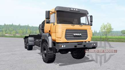 Ural 63701 Multilift v1.0.1 para Farming Simulator 2017