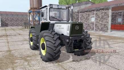 Mercedes-Benz Trac 1400 Turbo light grayish para Farming Simulator 2017