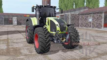 CLAAS Axion 930 soft yellow para Farming Simulator 2017