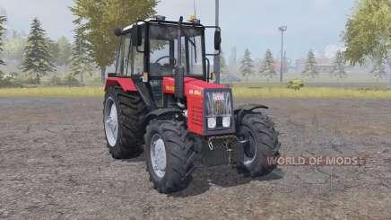 MTZ Bielorrússia 820.4 moderadamente vermelho para Farming Simulator 2013