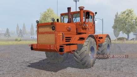 Kirovets K-700A vermelho-laranja para Farming Simulator 2013