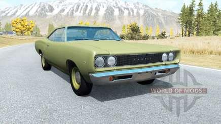 Dodge Coronet hardtop (WH-23) 1968 v3.0 para BeamNG Drive