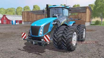 New Holland T9.700 twin wheels para Farming Simulator 2015