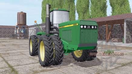 John Deere 8960 narrow twin wheels para Farming Simulator 2017
