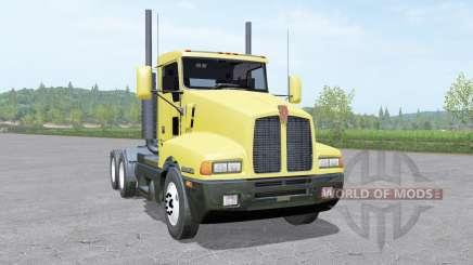 Kenworth T600 Day Cab 1985 para Farming Simulator 2017