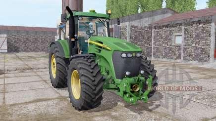 John Deere 7920 dark lime green para Farming Simulator 2017