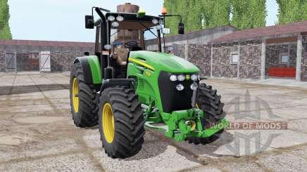 John Deere 7830 lime green para Farming Simulator 2017
