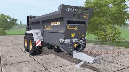 JOSKIN Tornado3 black para Farming Simulator 2017