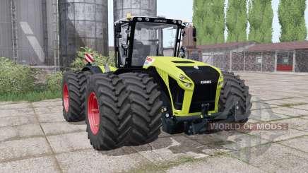 CLAAS Xerion 4500 twin wheels para Farming Simulator 2017