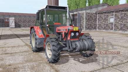 Zetor 7045 soft red para Farming Simulator 2017