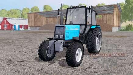 MTZ 892 Bielorrússia com uma lâmina para Farming Simulator 2015