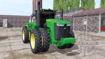 John Deere 9470R twin wheels para Farming Simulator 2017