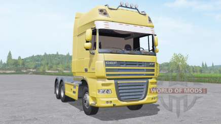 DAF XF105 Super Space Cab para Farming Simulator 2017