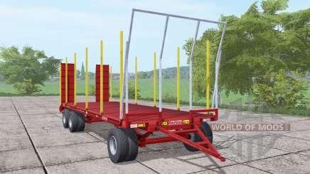 Ravizza Rimorchi RA 8000 3A SB para Farming Simulator 2017