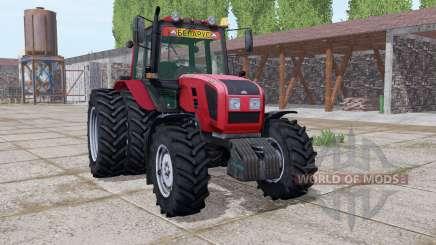 Bielorrússia 1220.3 rodas duplas para Farming Simulator 2017