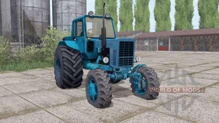 MTZ 82 Bielorrússia gama de configurações para Farming Simulator 2017