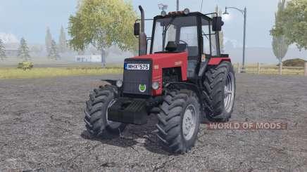 MTZ-1221 Bielorrússia vermelho para Farming Simulator 2013