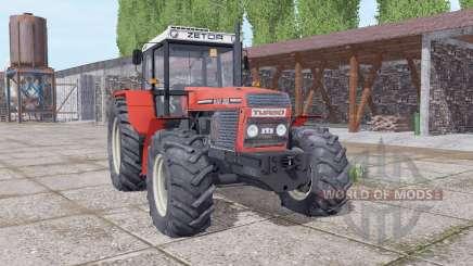 ZTS 16245 Turbo soft red para Farming Simulator 2017