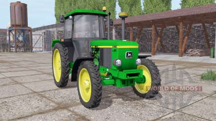 John Deere 3050 narrow wheels para Farming Simulator 2017
