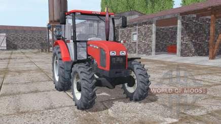 Zetor 5341 moderate red para Farming Simulator 2017
