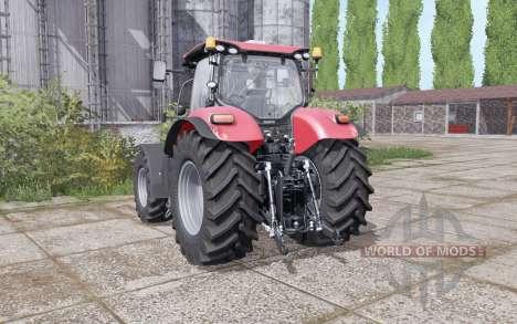 Case IH Puma 240 CVX narrow wheels para Farming Simulator 2017