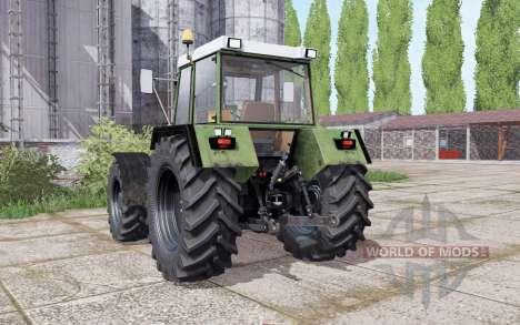 Fendt Favorit 612 LSA Turbomatik E dual rear para Farming Simulator 2017