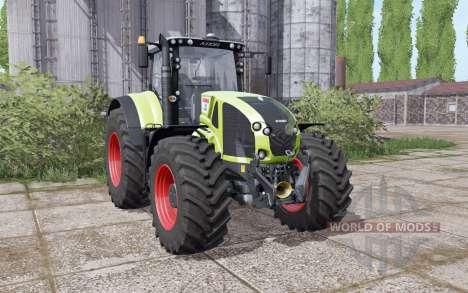 CLAAS Axion 940 interactive control para Farming Simulator 2017