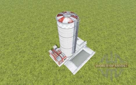 Fermenter Silo para Farming Simulator 2017