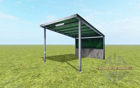 Metal dossel para Farming Simulator 2017