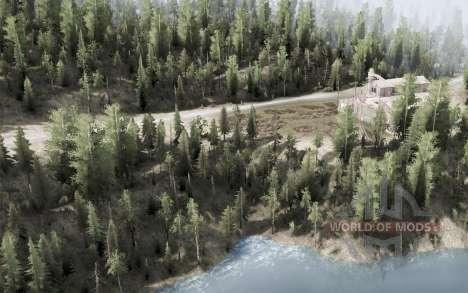Kootenay Mountains para Spintires MudRunner