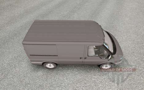 Ford Transit Van para Euro Truck Simulator 2