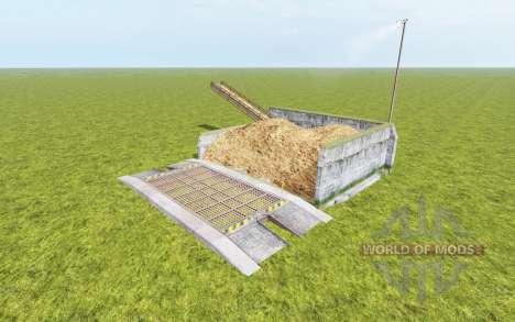 Armazenagem de estrume v1.0.1 para Farming Simulator 2017