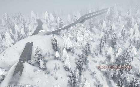 Branca de neve para Spintires MudRunner