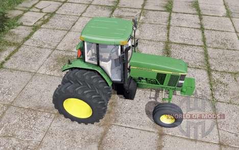 A John Deere 7800 traseira dupla para Farming Simulator 2017