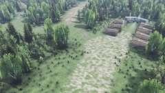 Profunda na floresta v2.0 para Spin Tires
