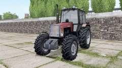MTZ-1221 Bielorrússia com controles interativos para Farming Simulator 2017