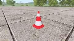 Cone de trânsito para Farming Simulator 2017