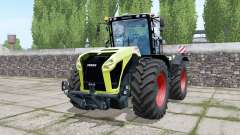 Claas Xerion 5000 Trac VC double wheels para Farming Simulator 2017