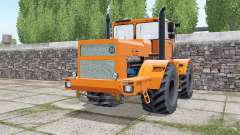 Kirovets K-701 com a escolha do motor para Farming Simulator 2017