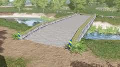 Ponte de concreto para Farming Simulator 2017