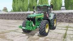 John Deere 8410 design option para Farming Simulator 2017
